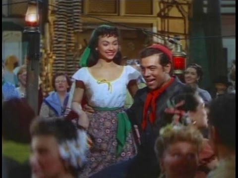 Mario Lanza sings TinaLina with a young and cute Rita Moreno