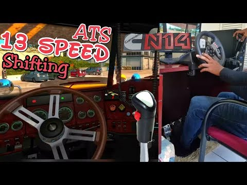 ATS - 13 Speed Shifting - Delivering a Load of Fuel