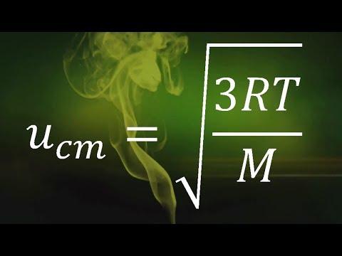 VELOCIDAD DE UN GAS Y LA TEMPERATURA   Química-Física