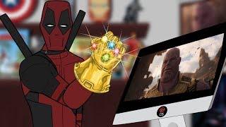 Мстители: Война бесконечности - разбор трейлера от Дэдпула