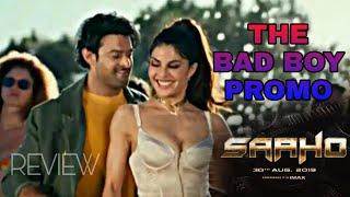 ##Prabhas##saaho new song ##badboy in Telugu  ##Manutej creations 