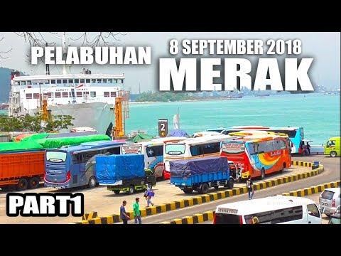 Ramainya... ANTRIAN BUS Memasuki Kapal di Pelabuhan Merak #PART1 (8 September 2018) Mp3