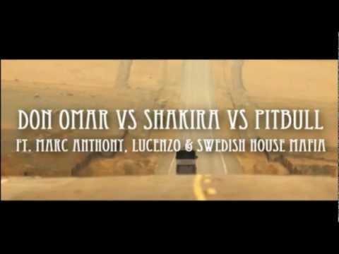 Danza Rabiosa Kuduro - Don Omar vs Shakira vs Pitbull Music2xRemix