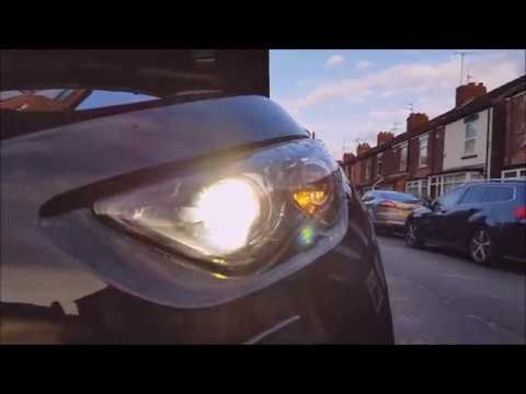 INFINITY QX70 How To Change Replacement Side Lights Bulbs On LED. ГАБАРИТНЫЕ ОГНИ