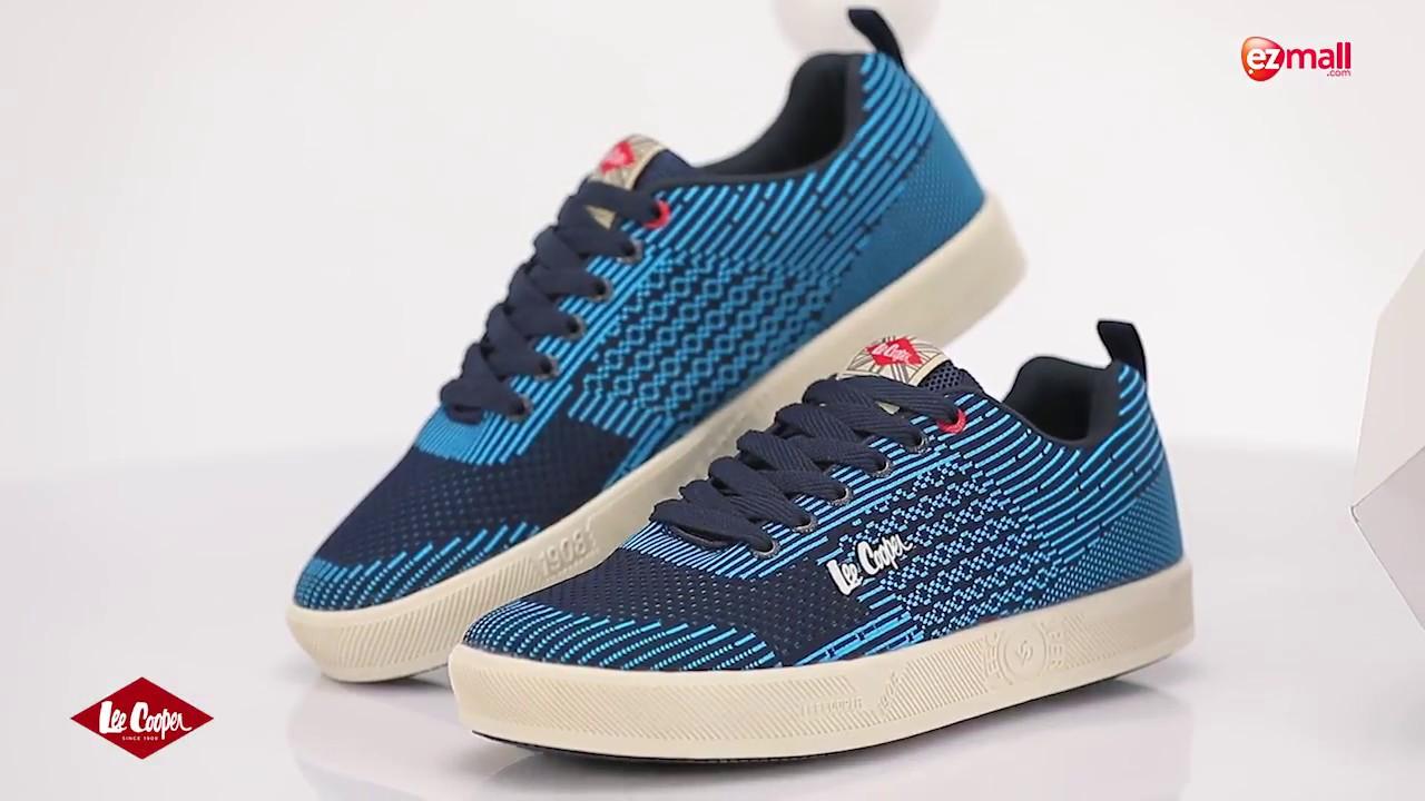 Lee Cooper Men's Navy-Blue Sneakers