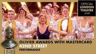 42nd Street & Finale Ultimo | 42nd Street performance at the Olivier Awards 2018 with Mastercard