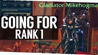 Going for Rank 1 Gladiator - World of Warcraft Legion Arena