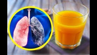 For Smokers And Ex Smokers. This Drink Will Cleanse Your Lungs