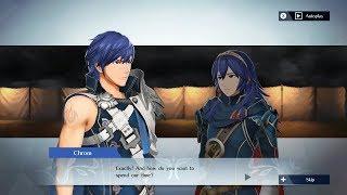 Fire Emblem Warriors - Chrom & Lucina Support Conversation