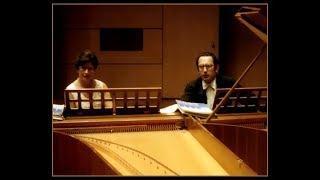 J. S. Bach: Concerto for Two Harpsichords in C major (BWV 1061) - Růžičková, Sebestyén