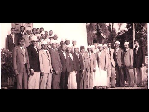 Le président Ahmed Abdallah Abderemane s'adresse aux cadres