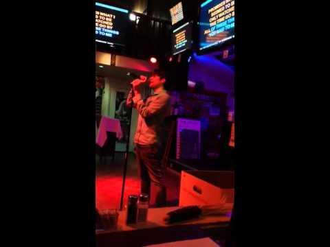 2014 Joey buda singing karaoke