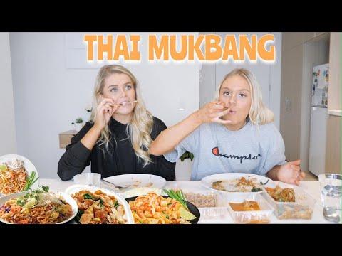 THAI MUKBANG | LETS CHAT & EAT!