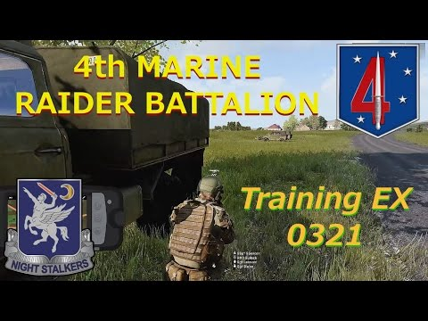 4th Marine Raider Battalion, Trng EX 0321 Convoy Ops