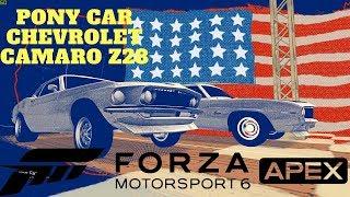 Forza Motorsport 6 Apex PC Gameplay Free to Play Pony Car Chevrolet Camaro Z28 4K Ultra HD
