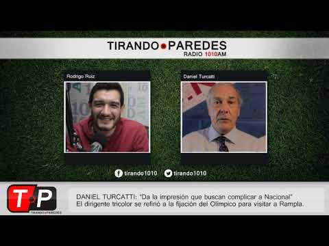 """Daniel Turcatti: """"Da la impresión que buscan complicar a Nacional"""""""