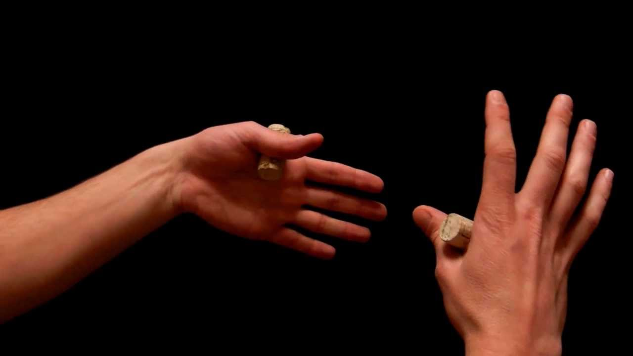 Zaubertrick Hand Drehen