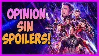 Avengers Endgame Opinion - Sin Spoilers | Top Cinema