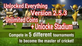 Wcc2 New Version 2.5.3 Unlimited Coins. Wcc2 Cricket Everything Unlock All Feature Latest Version