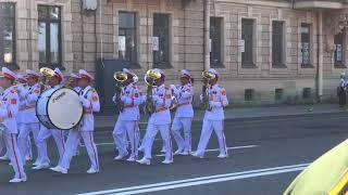 День ВМФ- Санкт-Петербург 29.07.2018- парад