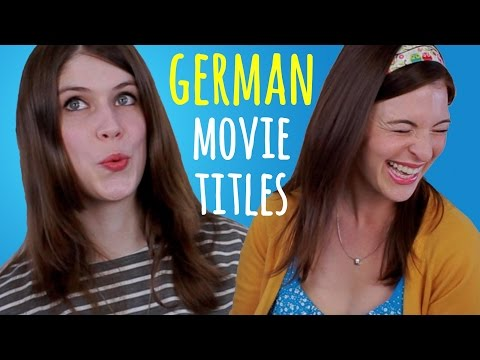 MOVIE TITLES: German vs. Original English with Don't Trust The Rabbit