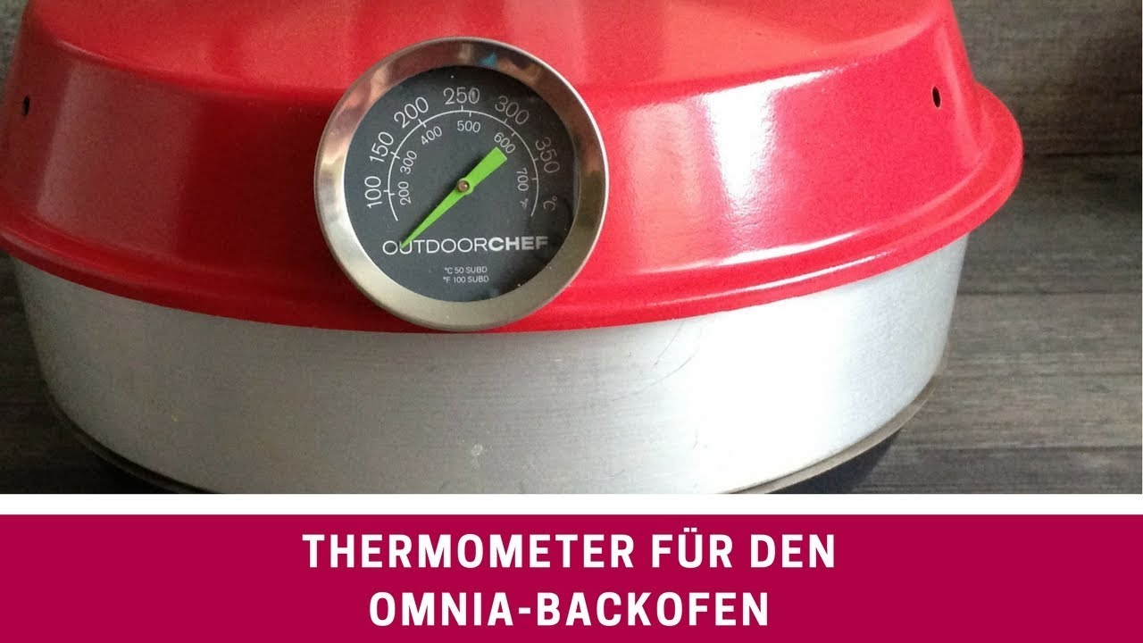 thermometer omnia backofen youtube. Black Bedroom Furniture Sets. Home Design Ideas