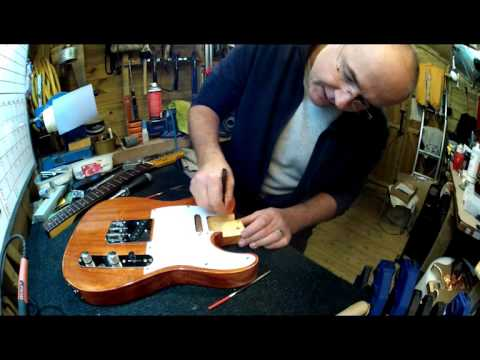 Harley Benton Telecaster KIT build, upgrade and set up part 1