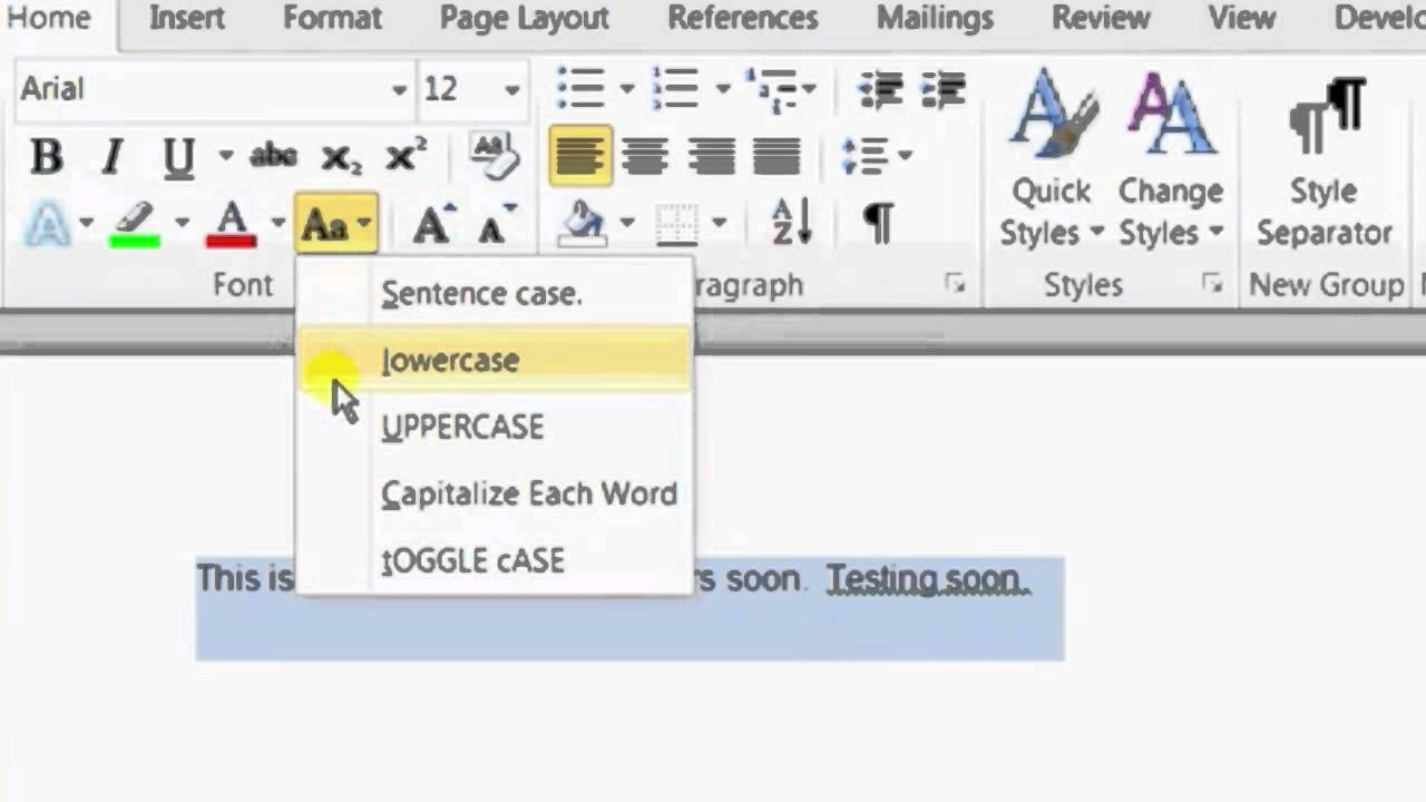 Capital Letter Beginning Sentence.How To Change An Already Typed Sentence To Capital Letters In Microsoft Wo Microsoft Word Help