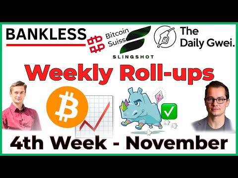 ROLLUP: 4th Week of November 🦃