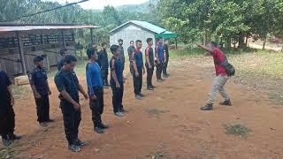 belajar yel yel Citra Borneo indah security