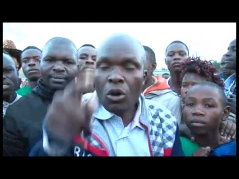 Boda boda operators in Maili saba center protests arrest of colleagues