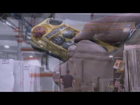 Moving Granite/Increasing Productivity-Gorbel Work Station Cranes