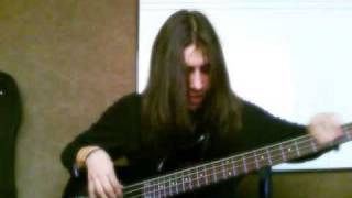 Mr. Big - Colorado Bulldog (bass cover)