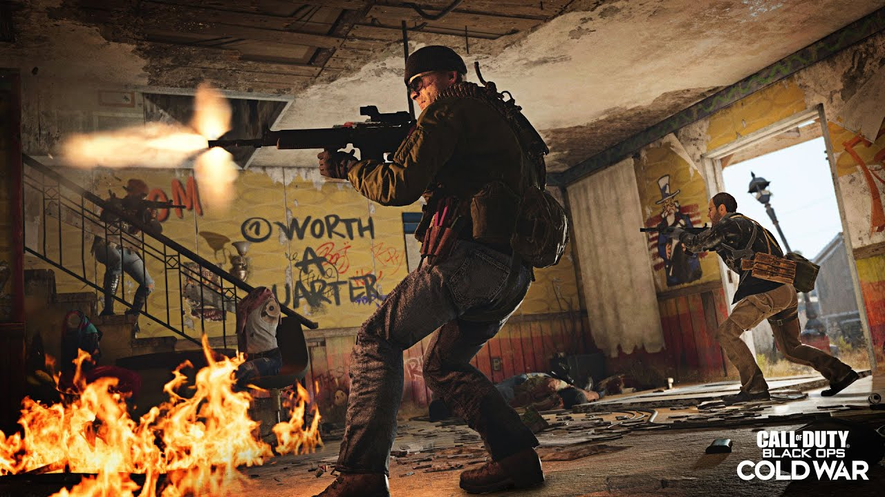 🇫🇷 Mes débuts sur Call of Duty Cold War Nuketown sur PC