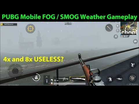 PUBG Mobile FOG WEATHER Arcade Mode Gameplay - From 0.4.0 (Prior to 0.5.0 Update)
