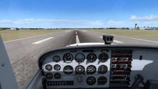 A2A Cessna 172R Short Field Landing/Taxi/Shutdown