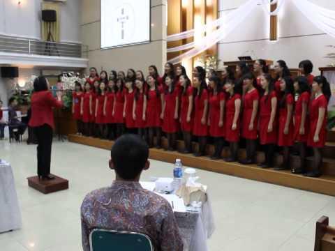 GS Smarta Choir-Ya Allahku Kupuji Dia
