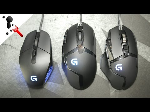 Re-Review Logitech G303 G402 and G502 (Spectrum)