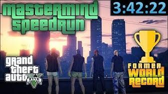 GTA Online Speedrun - Former World Record - Criminal Mastermind/All Heists in [3:42:22]