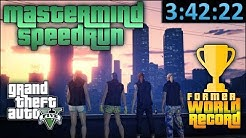 GTA Online Speedrun - Former World Record - Criminal Mastermind/All Heists in [3:42:22]