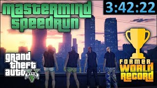 GTA Online Speedrun - Official World Record - Criminal Mastermind/All Heists in [3:42:22]