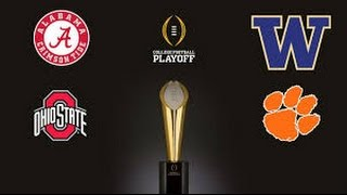 2016-17 College Football Playoff Predictions