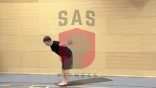 MMU student fitness class with SAS Fitness