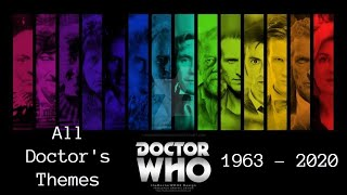 Doctor Who -  All Themes (1963 - 2020)