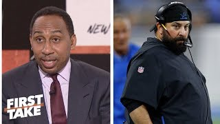 Stephen A. Smith blames Matt Patricia for Lions poor play in Week 1 | First Take | ESPN