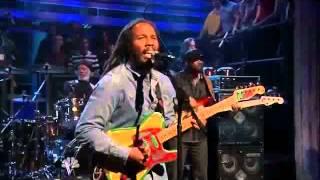 Late Night with Jimmy Fallon - Ziggy Marley 5/9/2011 -ii-