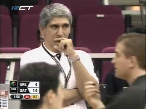 Group C | Greece vs Qatar | FIBA World Cup 2006 | First half | Greek