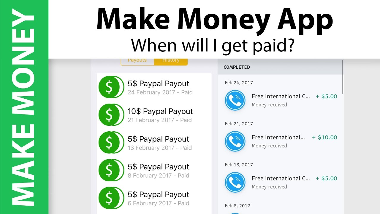 Make Money App Payment Proof In Real Time Make 65 With This