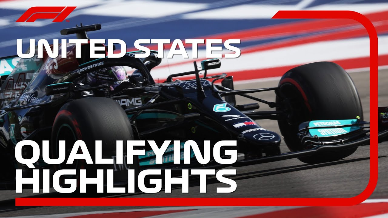 Download Qualifying Highlights | 2021 United States Grand Prix