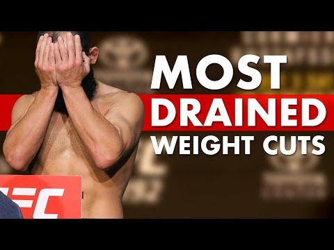 10 UFC Fighters Who Looked Awful At Weigh-Ins